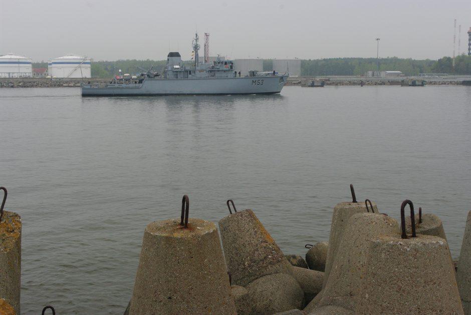 Priešmininis karo laivas