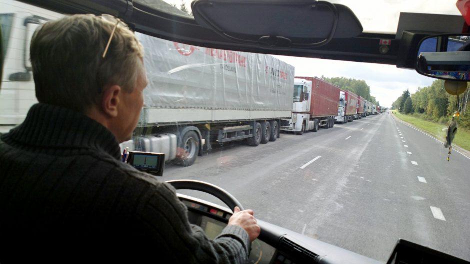 Eilės pasienyje turi įtakos Klaipėdos uostui