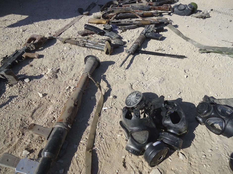Sirijos džihadistai žada keršyti už cheminio ginklo panaudojimą