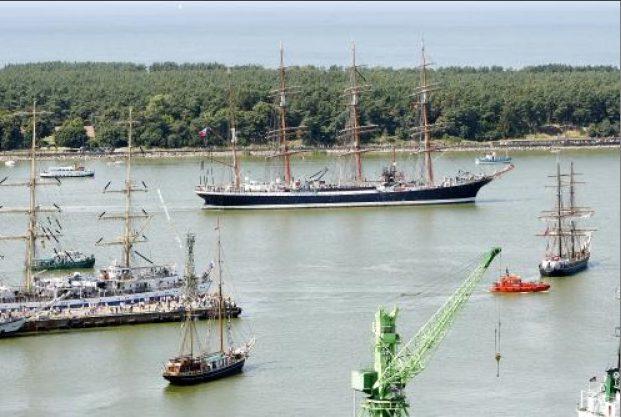 """Į Klaipėdą sugrįš didžiųjų burlaivių regata """"The Tall Ships Races"""""""