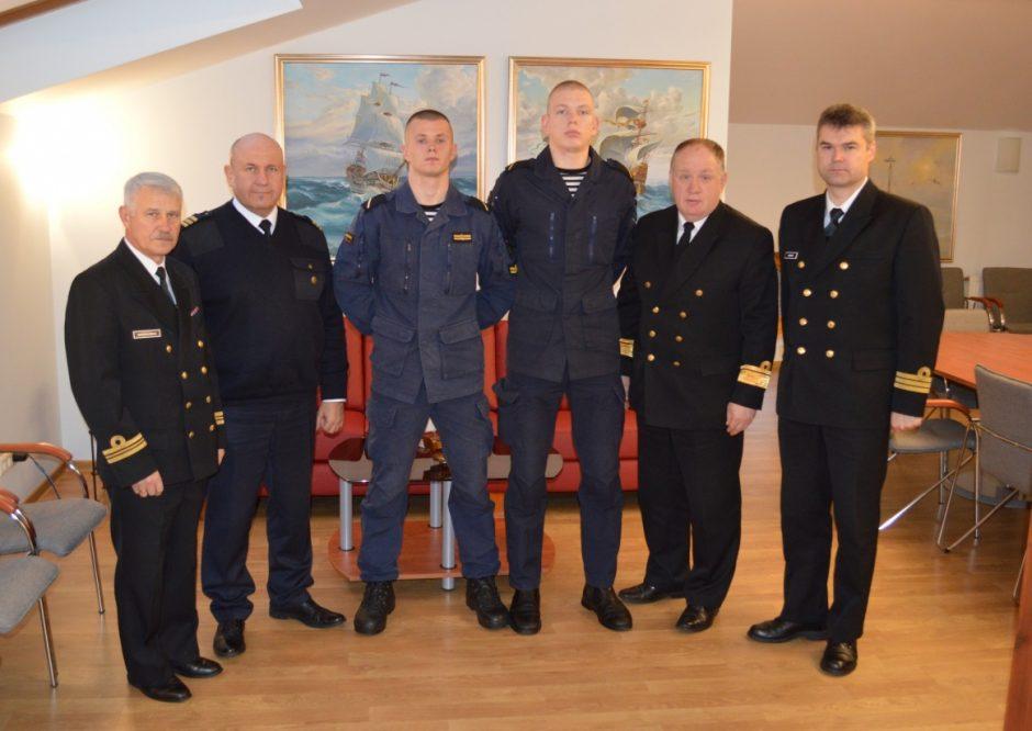 Trims laivavedybą studijuojantiems studentams mokslus apmokės KAM