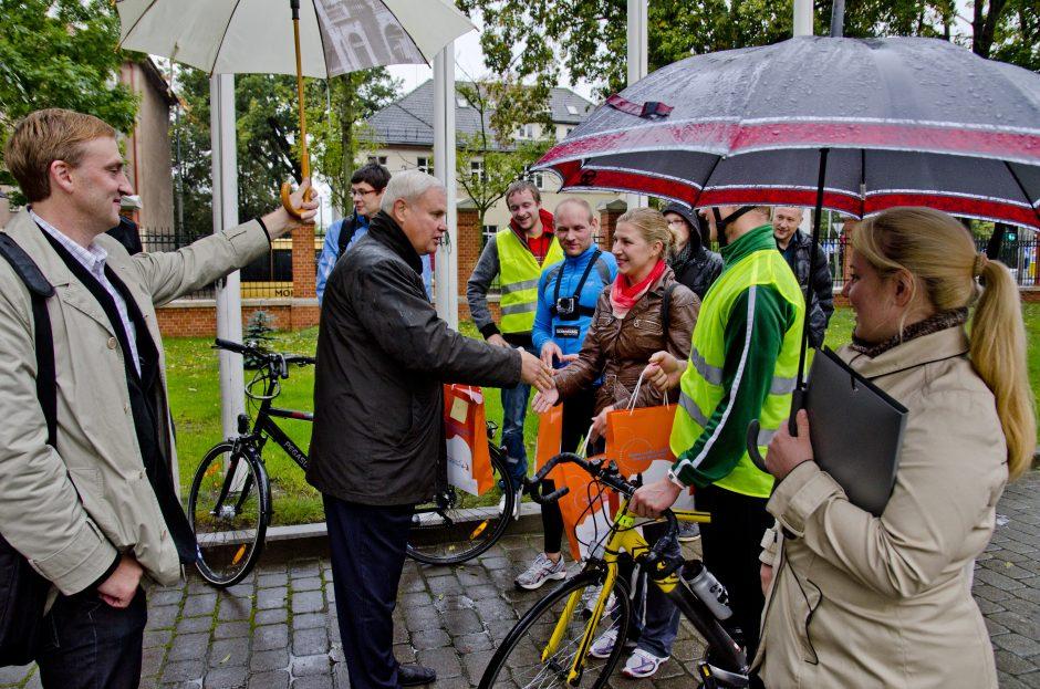 Judriosios savaitės lenktynės Klaipėdoje: greičiausias buvo autobusas