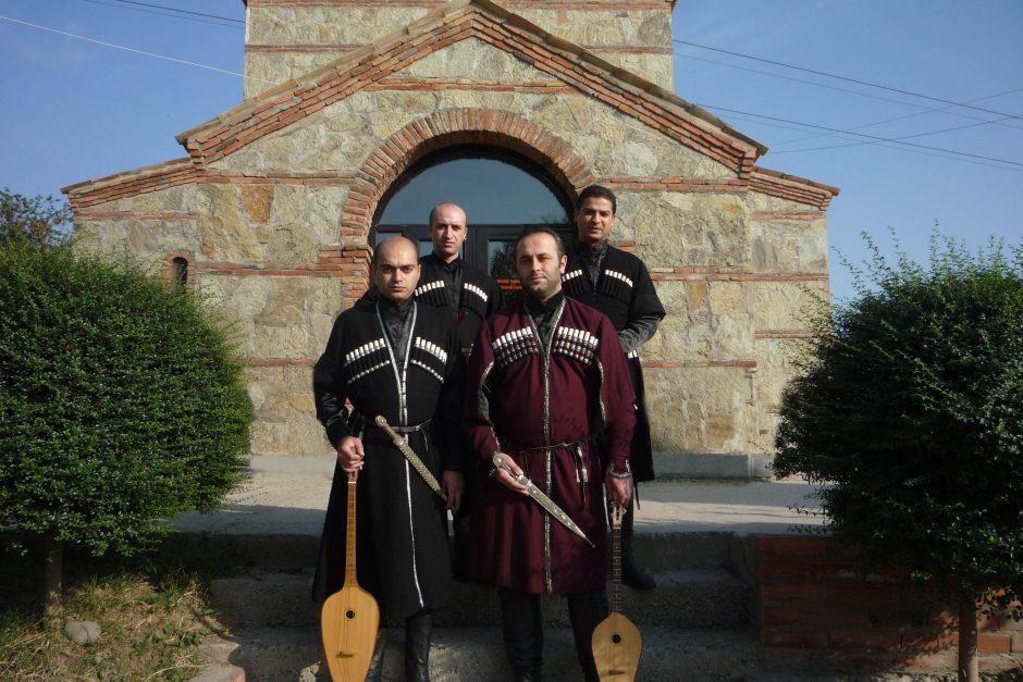 """""""Palangos vasaroje"""" skambės gruzinų folkloras"""
