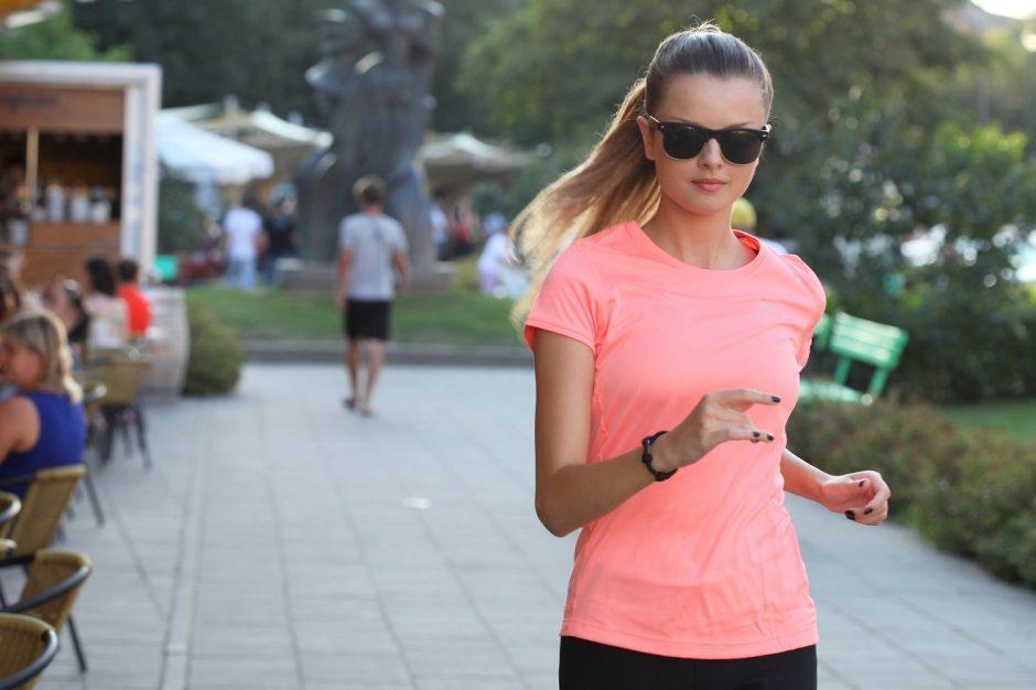 Tituluota gražuolė G. Martirosianaitė džiaugiasi prisijaukinusi bėgimą