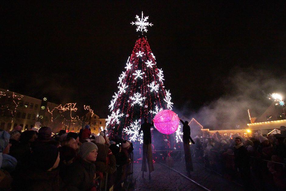 Kalėdų ir Naujųjų metų šventėms Klaipėdoje – rekordinė suma
