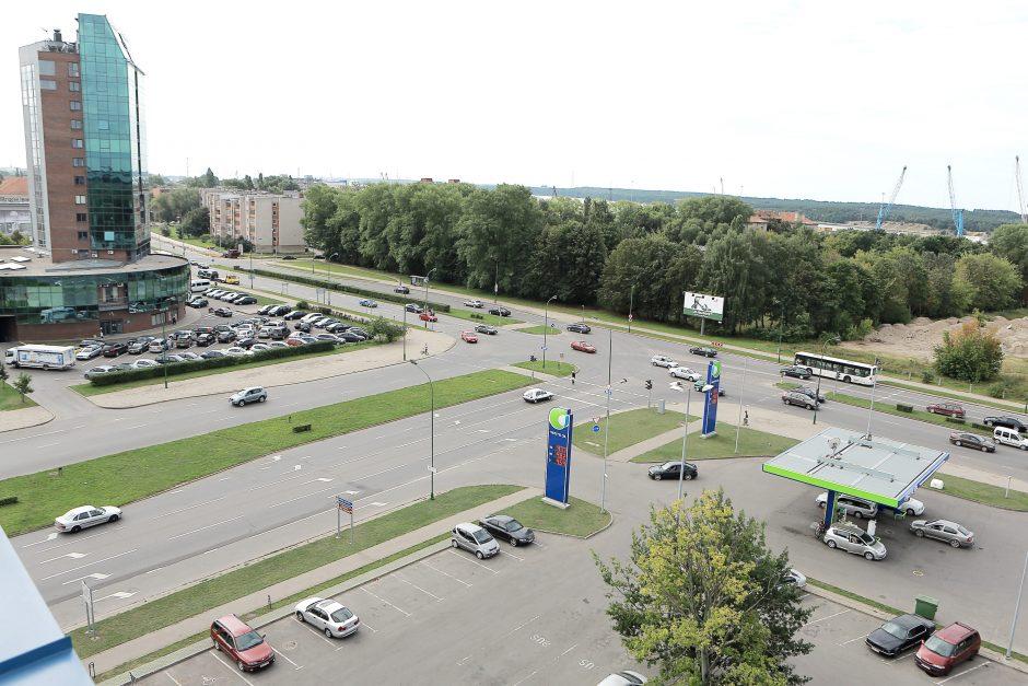 Prasideda Baltijos prospekto ir Minijos gatvių sankryžos rekonstrukcija