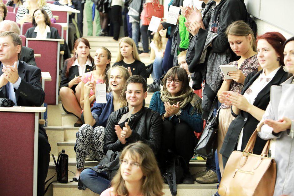 Klaipėdos universiteto Psichologijos mokykloje – moksleivių antplūdis