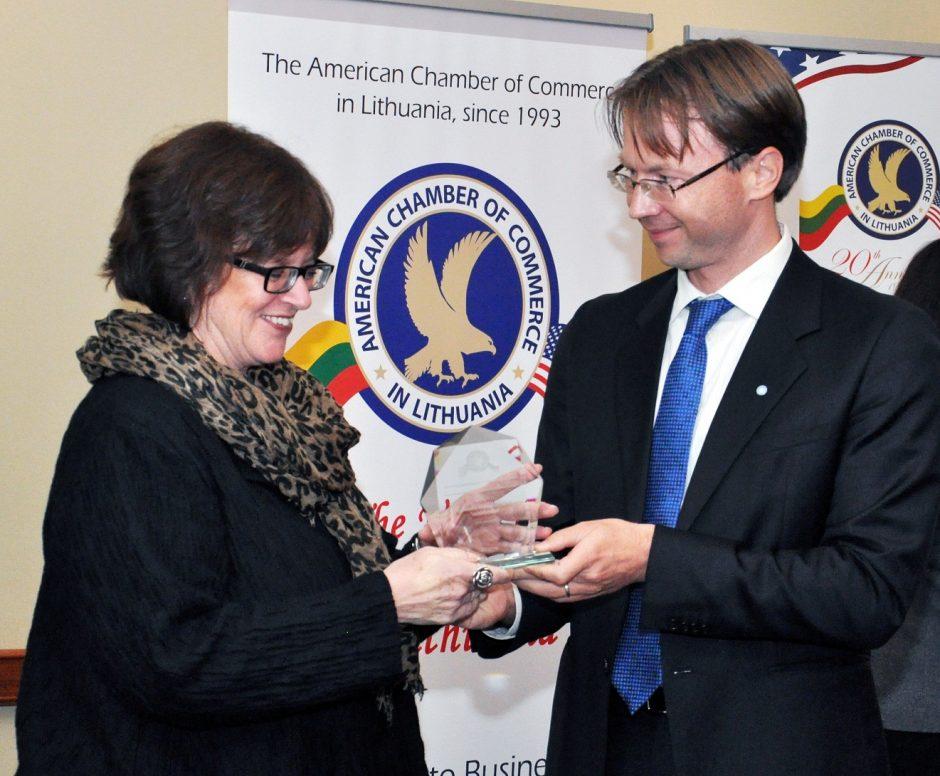 Garbingas apdovanojimas – į Klaipėdą