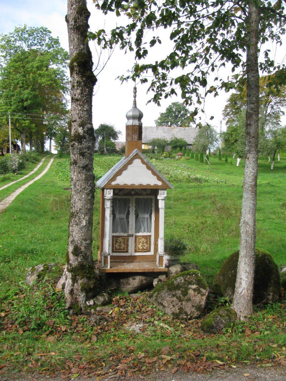 Vertybių plėšikai Klaipėdos apskrityje nusitaikė į koplytėles