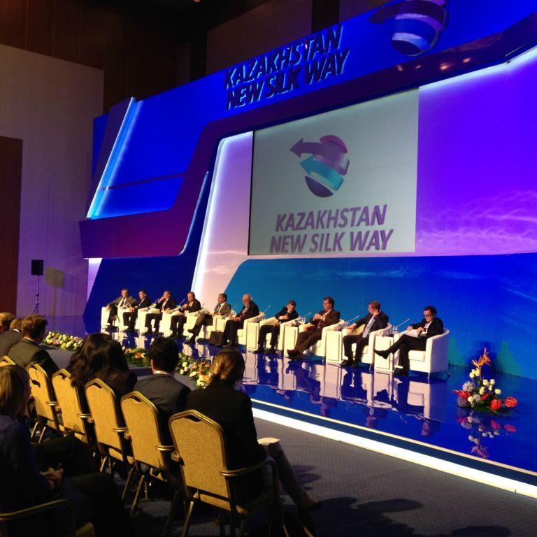 Klaipėdos uosto vadovas lankėsi transporto ir logistikos forume Kazachstane