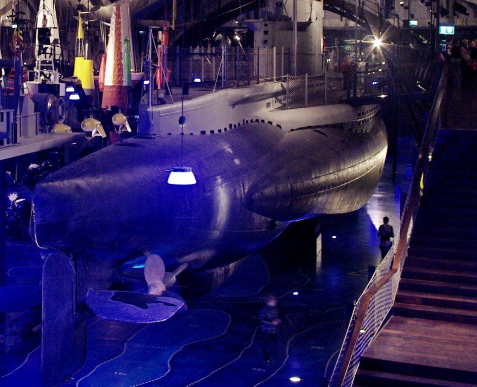 Estijoje – seniausias povandeninis laivas
