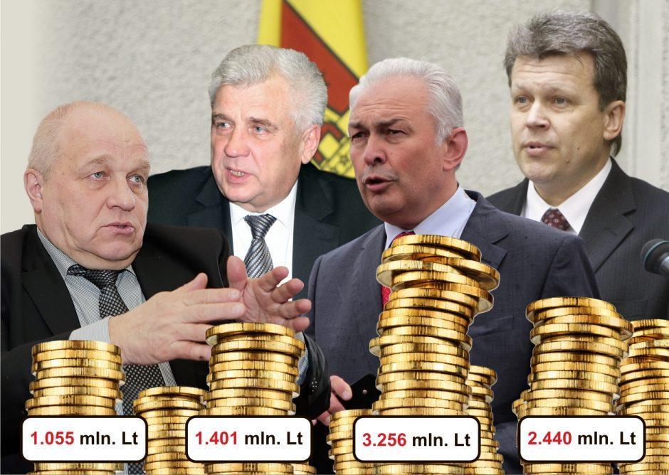 Klaipėdos valdžioje nyksta turtuoliai