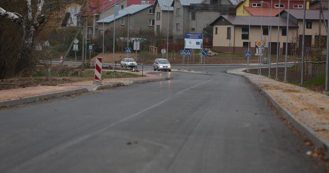 Atnaujintas eismas Joniškės gatve