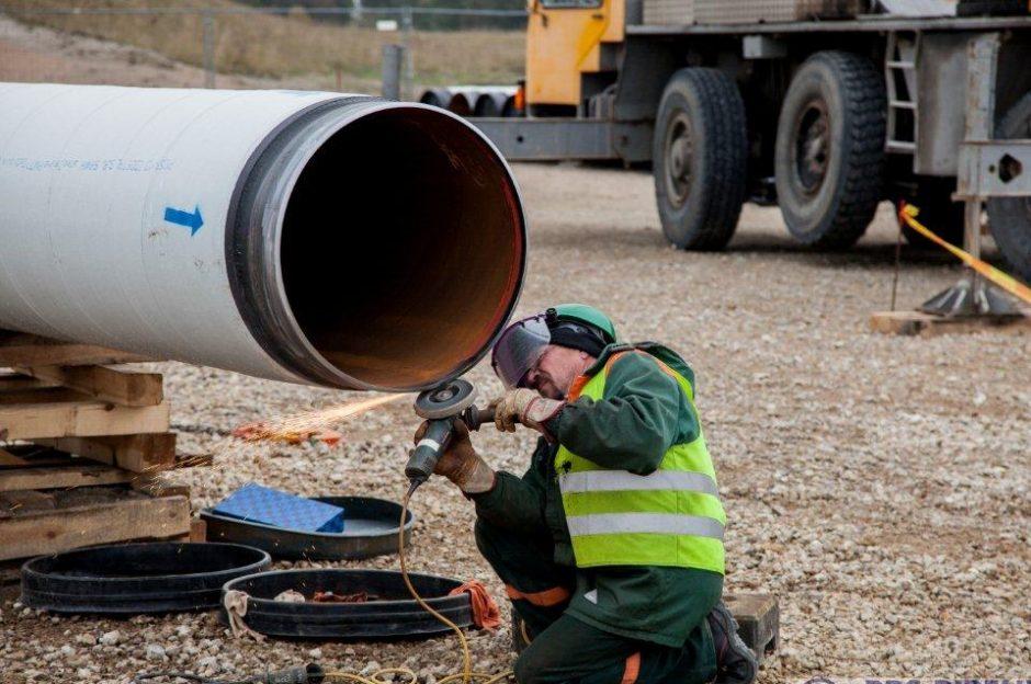 Gauti visi SGD dujotiekio trasos statybos leidimai: darbai prasidės dar šį mėnesį