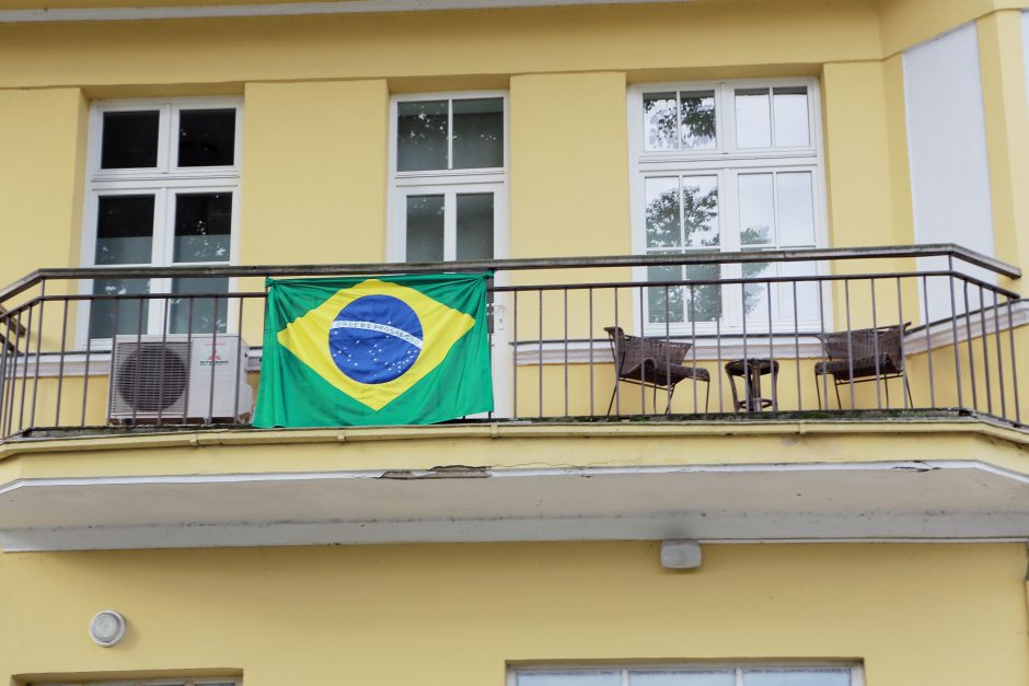 Klaipėdoje gyvena brazilai?