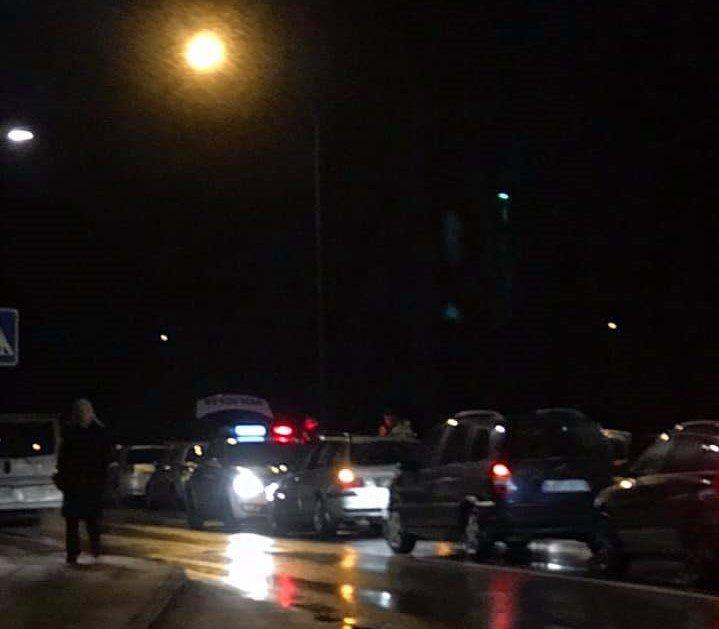 Pėsčiųjų perėjoje partrenkta moteris išvežta į ligoninę