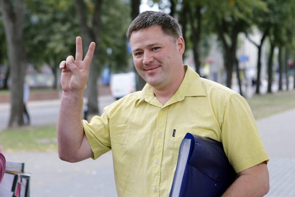 Apkaltos komisija baigė darbą: V. Titovas kaltas nesijaučia