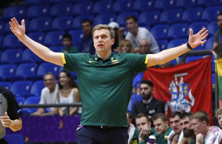 Lietuvos rinktinė – nežymi favoritė įveikti Graikiją