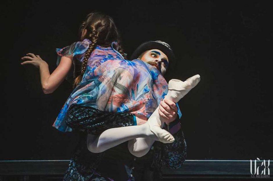 """""""Alisa stebuklų šalyje"""": šokio spektaklio premjera"""