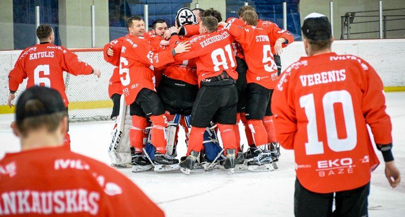 Lietuvos ledo ritulio čempionate varžysis keturios komandos
