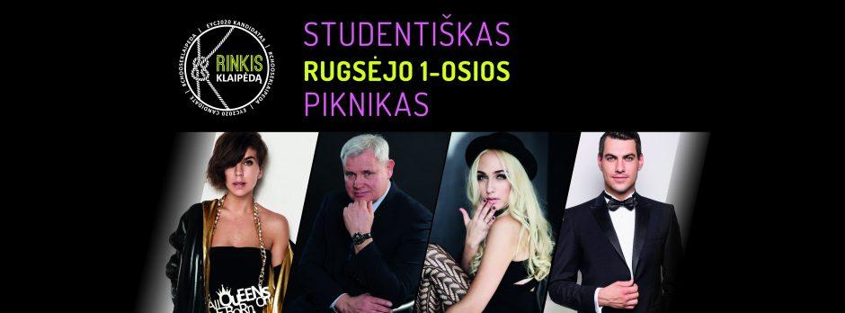 Studijų pradžia Klaipėdoje – studentiškas piknikas su J. Jankevičiumi