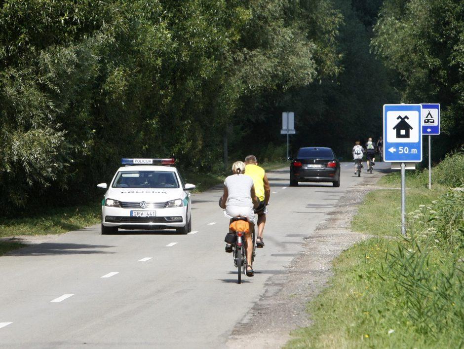 Įžūlūs dviratininkai – pareigūnų siaubas