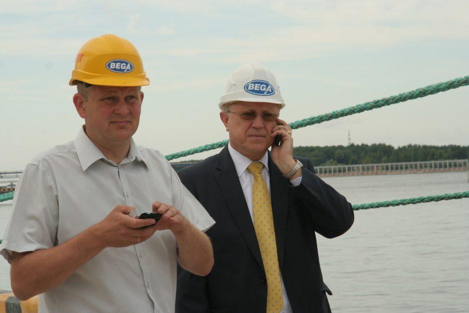 Jūrų krovinių kompanijoje