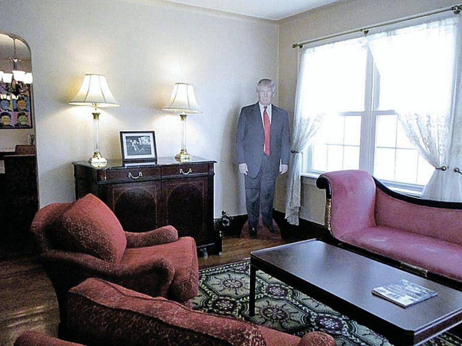 Jūsų laukia D. Trumpo namas