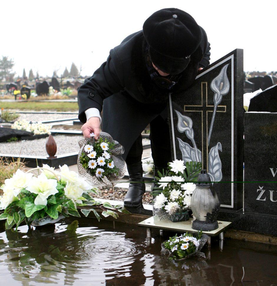 Skęstančiose kapinėse – pokyčiai