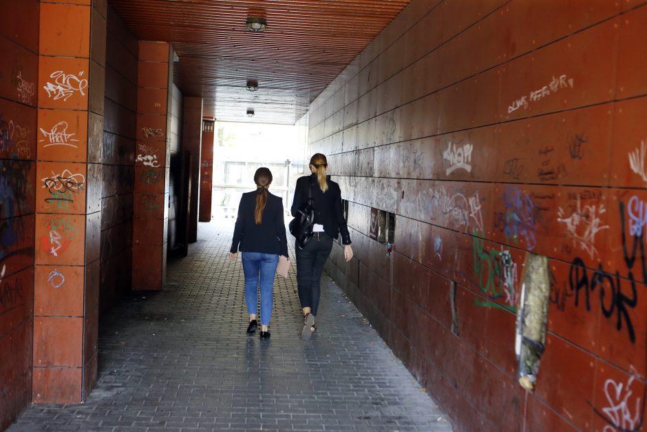 Tuneliuke uostamiestyje prašo švaros