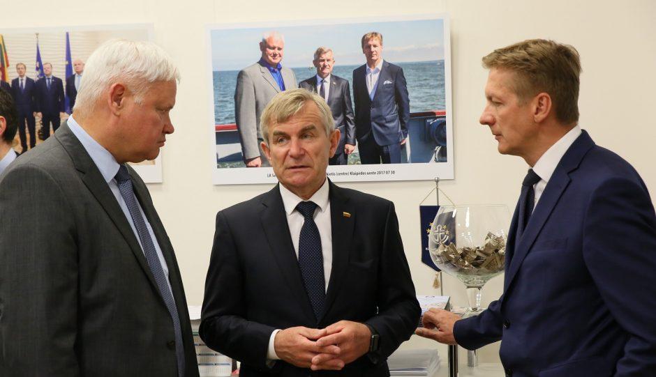 Seimas pažadėjo paramą uosto vystymui