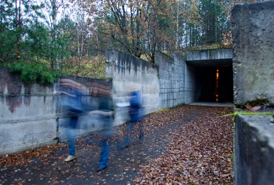 Lietuvos moksleiviai prašo išsaugoti sovietinį bunkerį