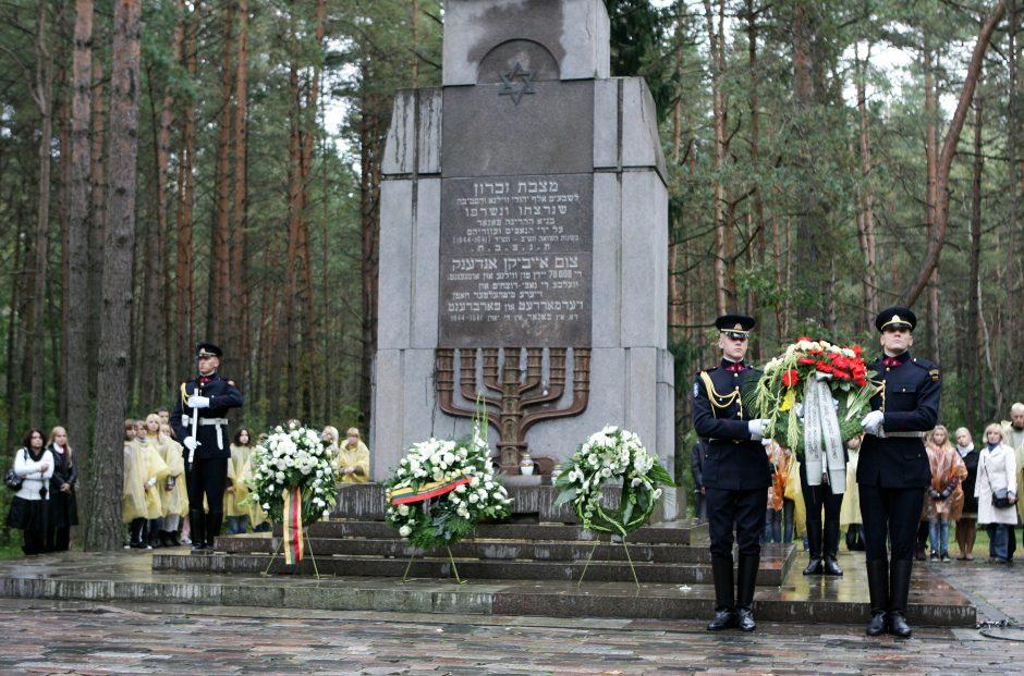 Vyriausybė susirūpino Panerių memorialo sutvarkymu