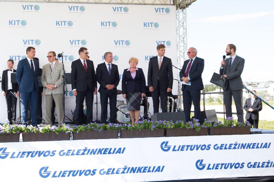 Prie Vilniaus pradėtas statyti Viešasis logistikos centras