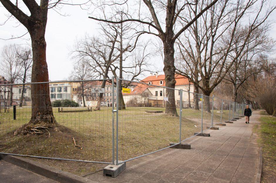 Bernardinų sodas po rekonstrukcijos bus atidarytas rugsėjį