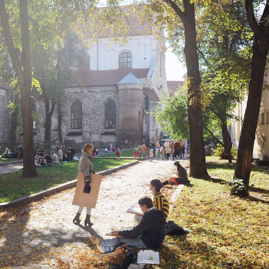 Vilniaus padangėje ketvirtadienį ir vėl turėtų šviesti saulė