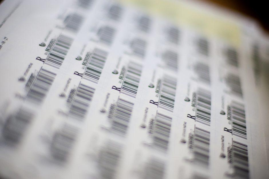 Atskleisti neteisėtai brūkšninius kodus išdavinėjusios asociacijos nusikaltimai