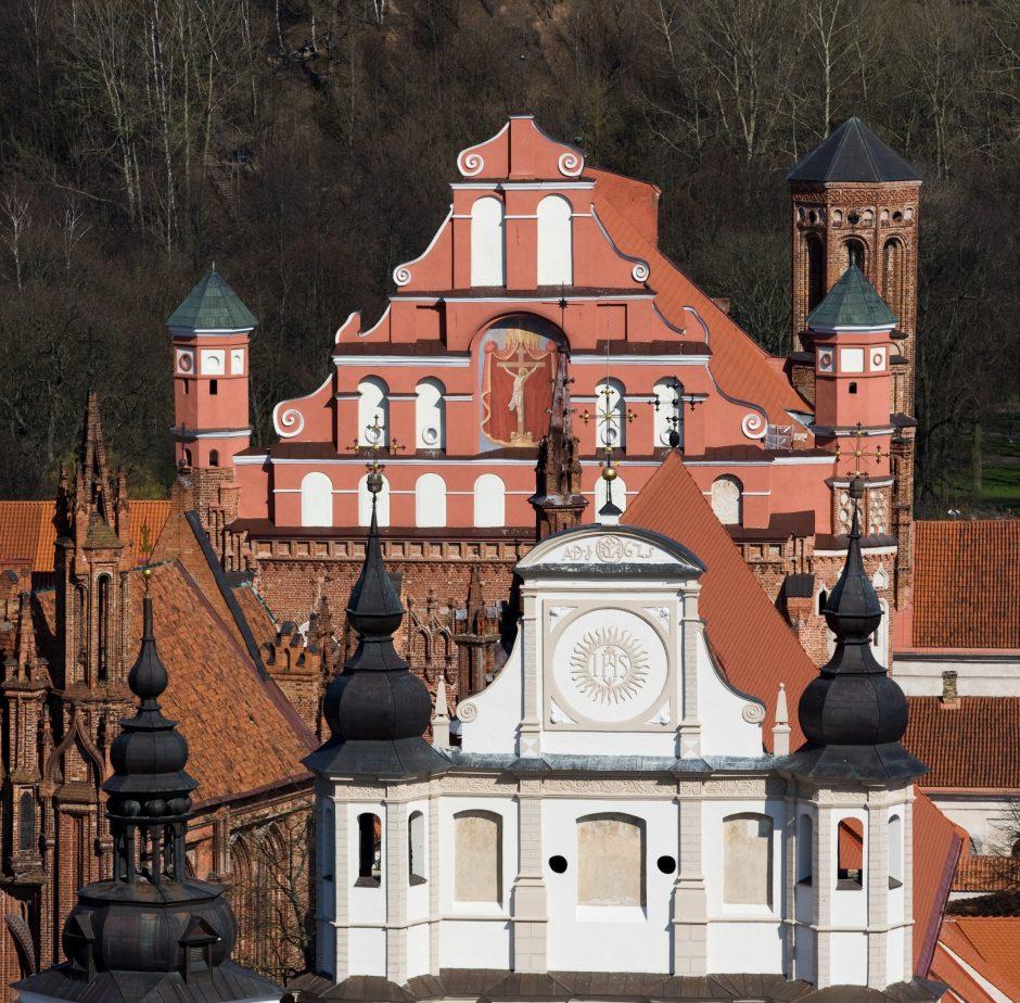 Vyriausybė nusprendė Pranciškonų vienuolyną perduoti Valstybės turo fondui