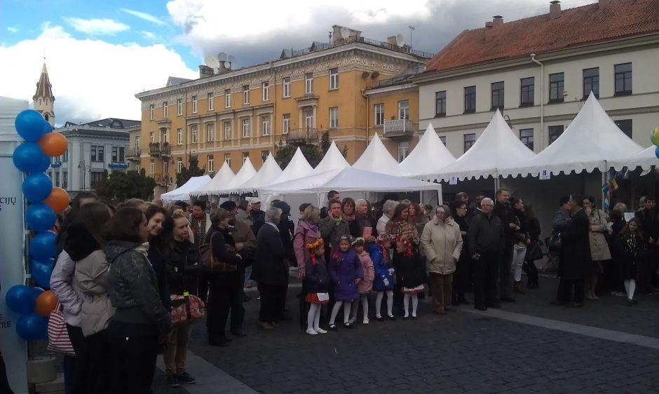 Vilniaus Rotušės aikštėje - Europos kalbų dienai skirta šventė