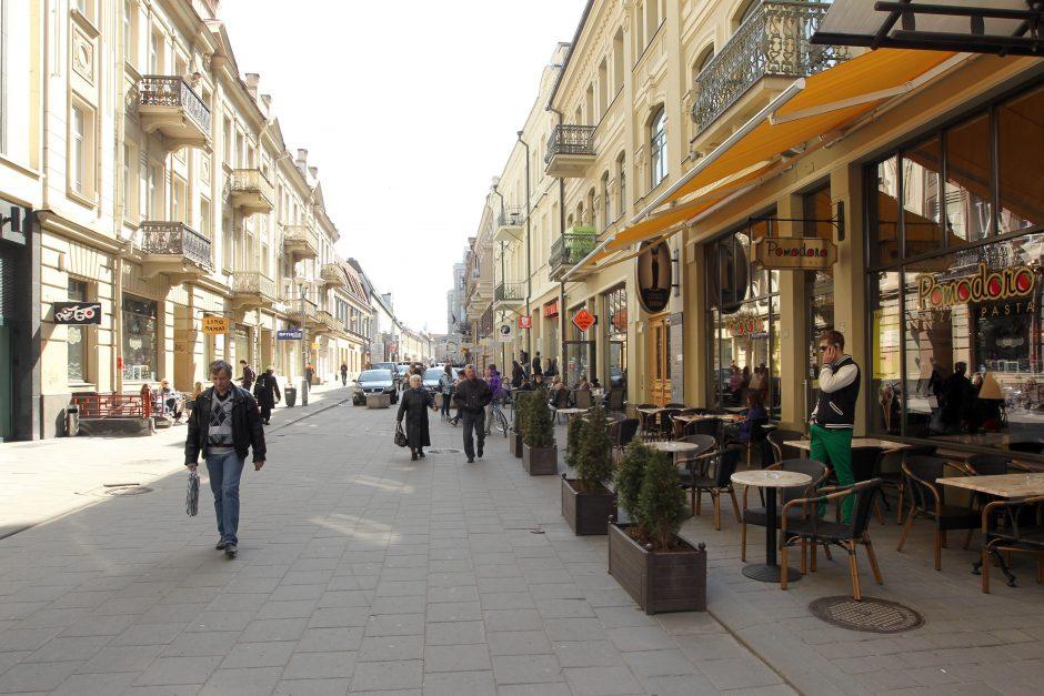Vilniaus gatvės dalyje nuo ketvirtadienio bus ribojamas eismas