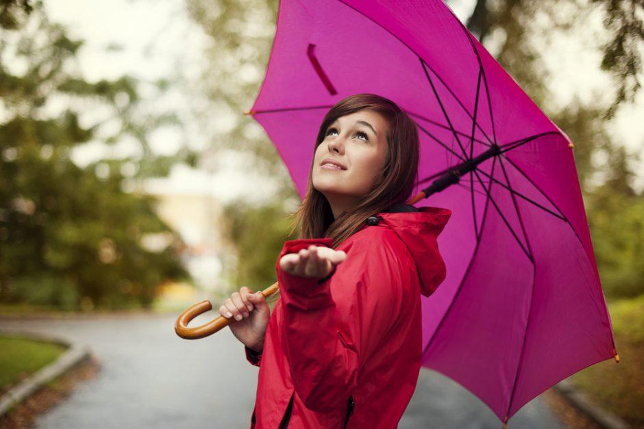 Lietus ir vėl neaplenks sostinės