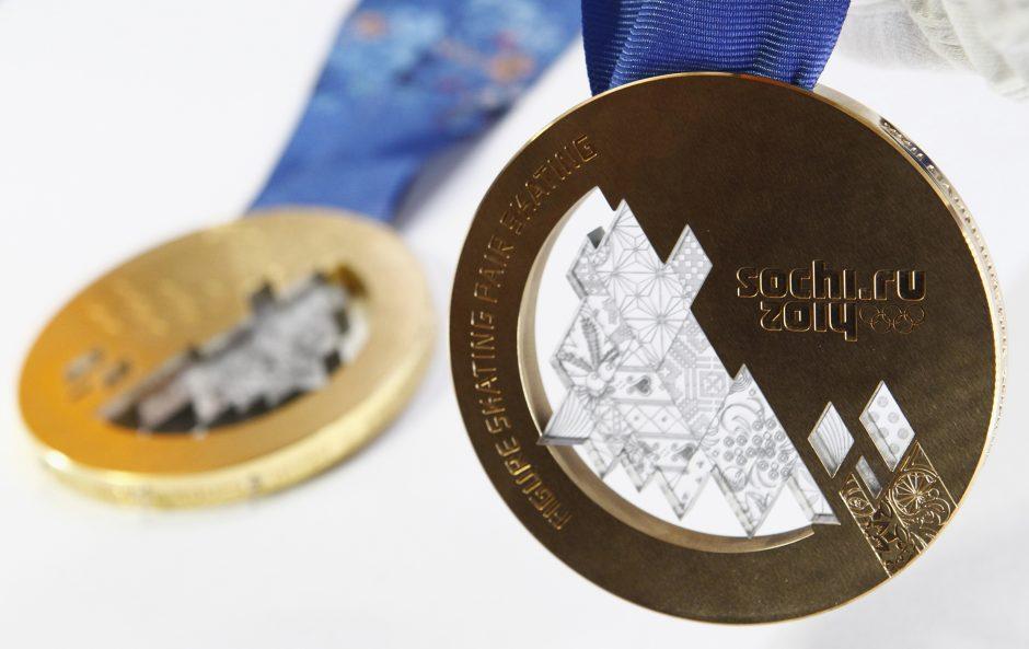 Sočio olimpiados medaliai