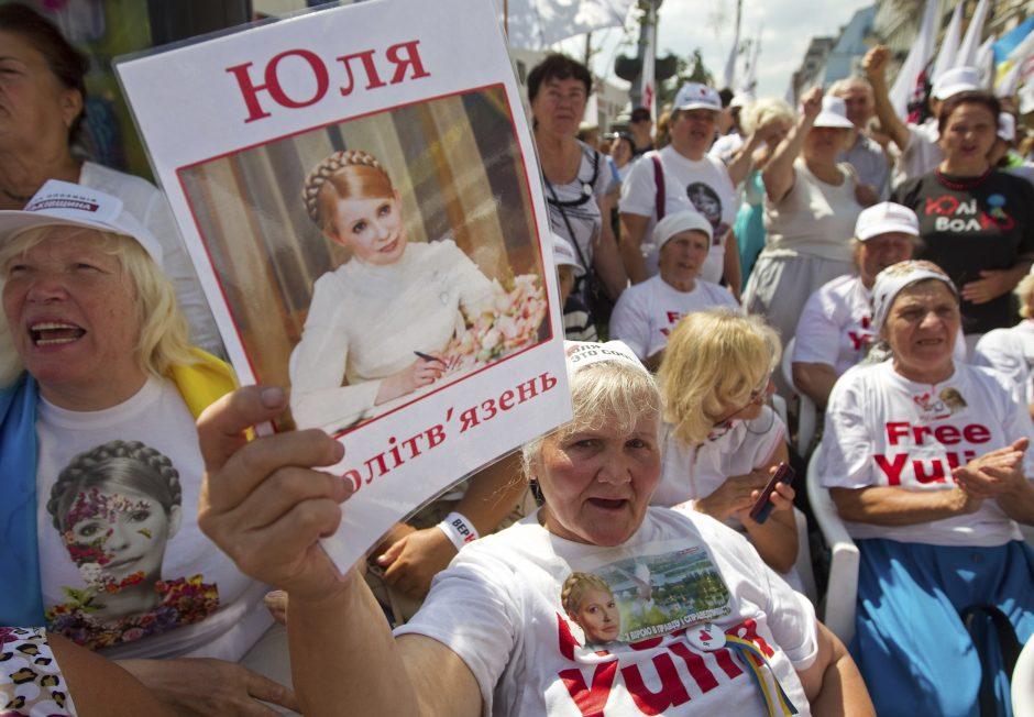 J. Tymošenko: Ukraina turi įrodyti esanti verta būti Europos šeimoje