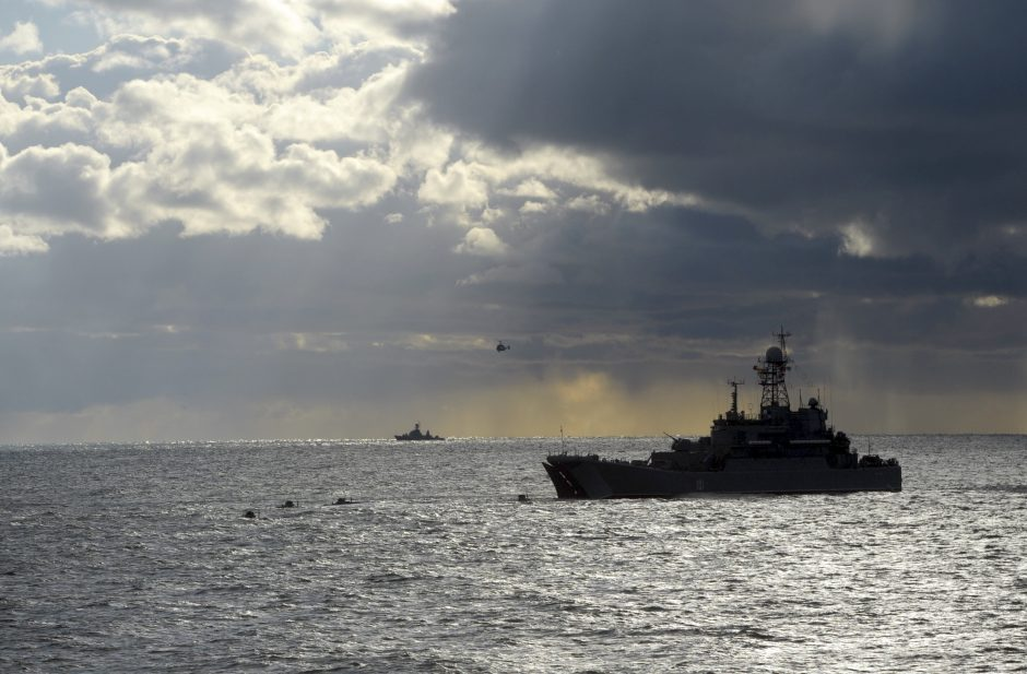 Kinijos karo laivai Kaliningrado srityje dalyvaus bendrose pratybose su Rusija