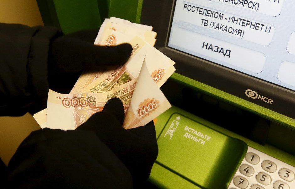 Rusijoje naujas virusas leidžia vogti pinigus iš bankomatų