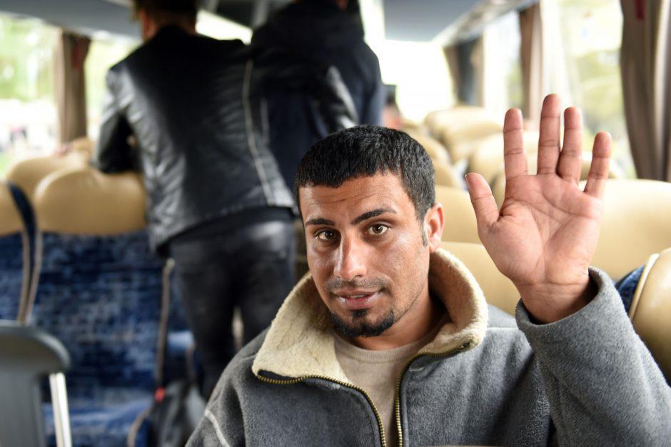 Perkelta tik dešimtadalis pabėgėlių: Lenkijoje ir Vengrijoje jų nėra nė vieno