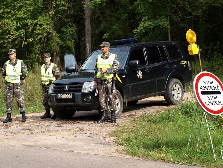 Kalvarijos savivaldybėje įkliuvo tris nelegalus gabenęs lenkas