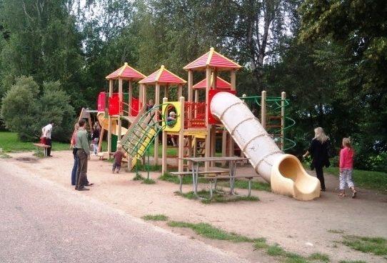 Šančių seniūnijos planuose – dar keturios vaikų žaidimo aikštelės