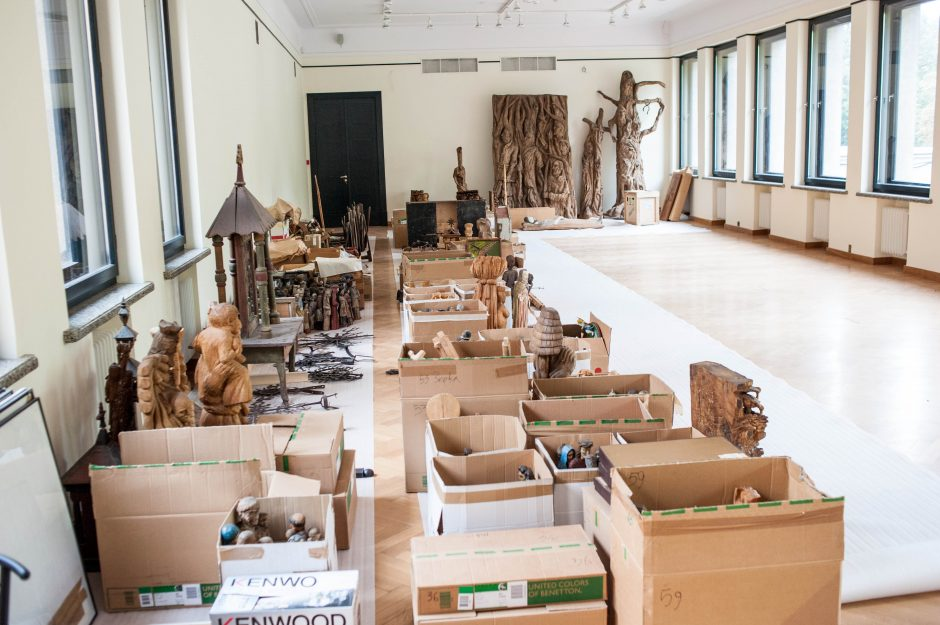 Muziejaus remonto pabaigos dar nesimato