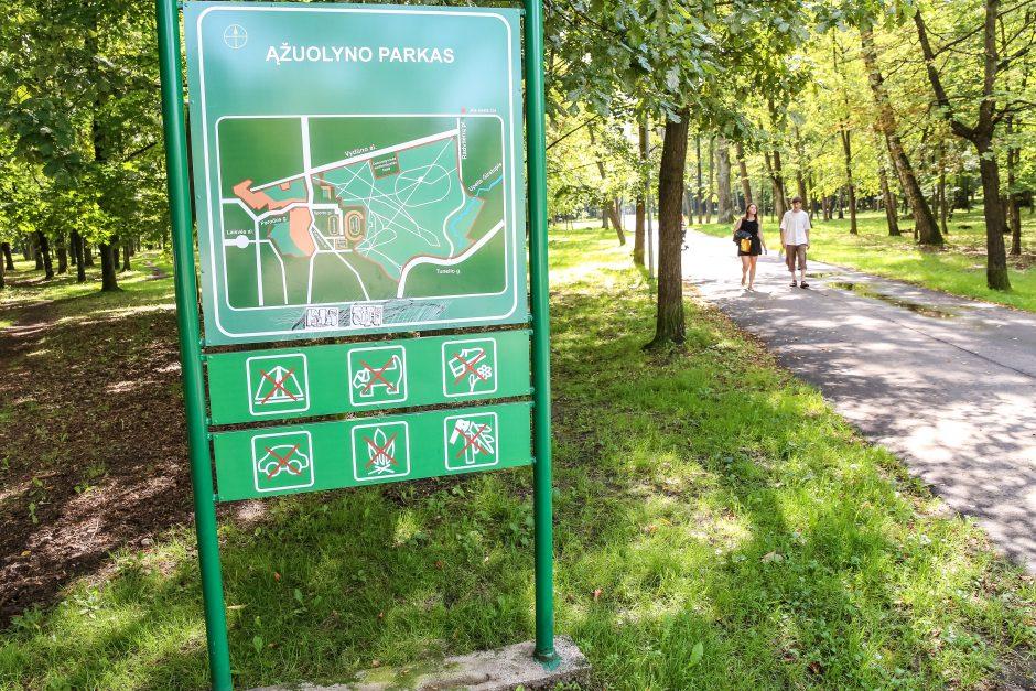 Miesto parkai – šunims ar žmonėms?